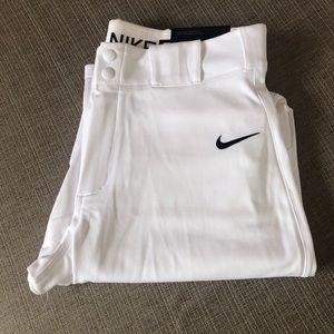 Nike Vapor Pro White Baseball Pants